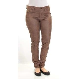 Womens Brown Pants Juniors Size 7