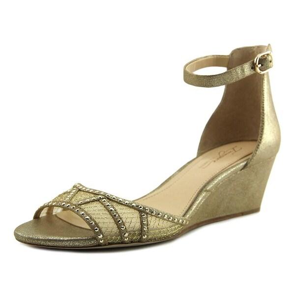 999e22e13d Shop Imagine Vince Camuto Joan Open Toe Leather Wedge Heel - Free ...