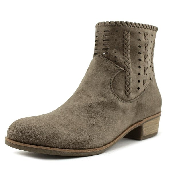 Indigo Rd. Cam Women Round Toe Suede Tan Ankle Boot