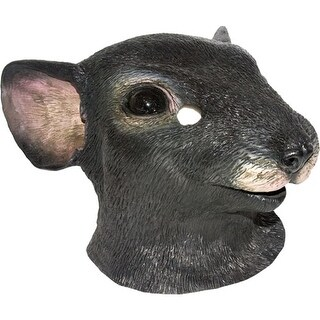 Lifelike Mouse Mask Adult Halloween Costumes - standard - one size