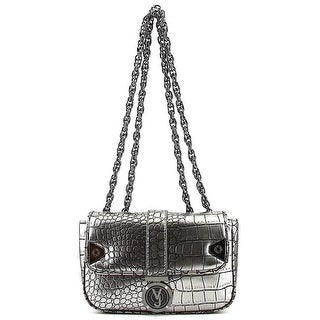 Versace Jeans Couture E1VMBBG2 Women Leather Clutch - Gray