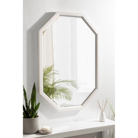 Kate and Laurel Hogan Framed Octagon Wall Mirror