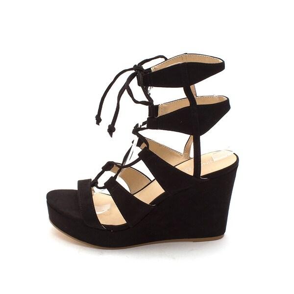 Nine West Womens kaliope Open Toe Casual Platform Sandals
