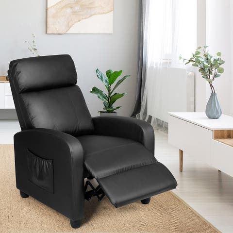 Recliner Massage Sofa Chair Fabric Reclining Chair