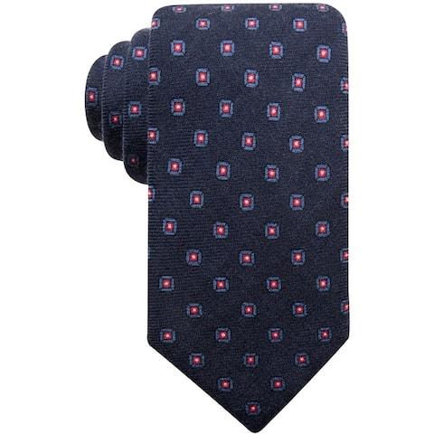 Tasso Elba Mens Medallion Self-Tied Necktie - One Size