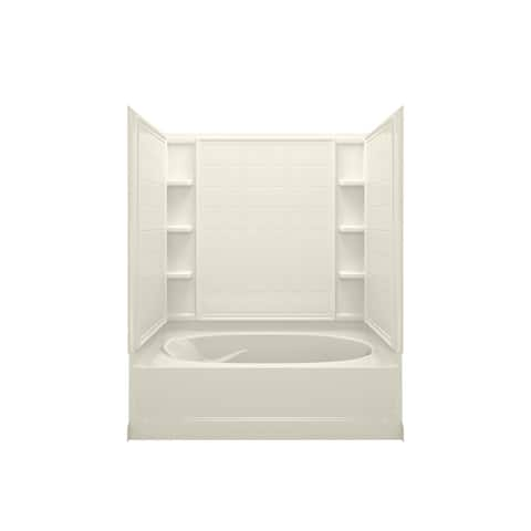 """Sterling 71110120 Ensemble 60"""" x 43-1/2"""" x 73-1/4"""" Vikrell Shower with"""