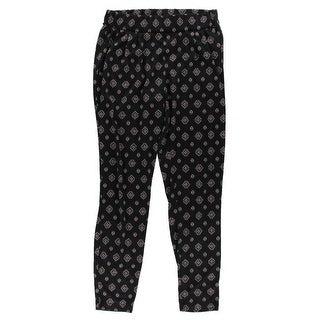 Energie Womens Casual Pants Knit Printed - M