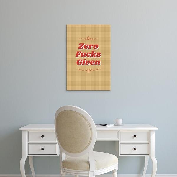 Easy Art Prints 'Zero II' Premium Canvas Art