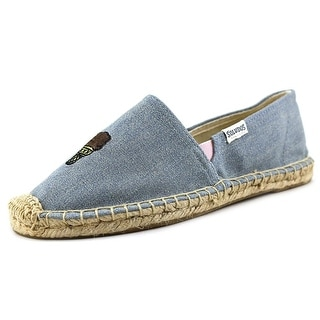 Soludos Jason Polan Round Toe Canvas Espadrille