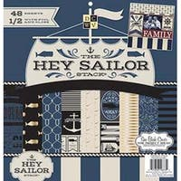 "Hey Sailor - Dcwv Single-Sided Paper Stack 12""X12"" 48/Pkg"