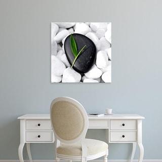 Easy Art Prints PhotoINC Studio's 'Zen Stone' Premium Canvas Art