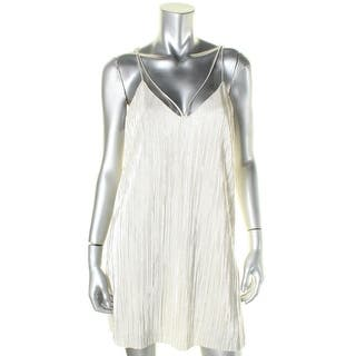 Bardot Womens Slip Dress V-Neck Sleeveless|https://ak1.ostkcdn.com/images/products/is/images/direct/70704ebd4f172454194873f5140ace32a24f7b65/Bardot-Womens-Slip-Dress-V-Neck-Sleeveless.jpg?impolicy=medium
