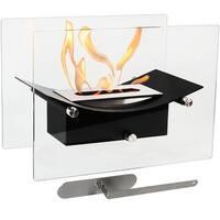 Sunnydaze Zen Ventless Tabletop Fireplace Bio-Ethanol Fireplace - Options Available