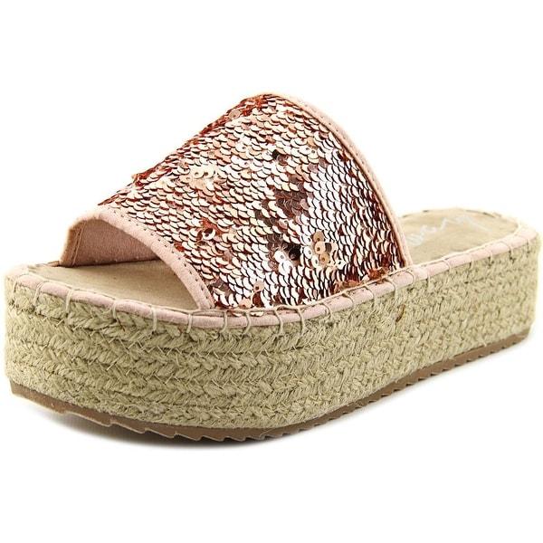 Coolway BoraBora Women Open Toe Canvas Slides Sandal