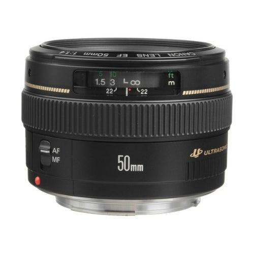 Canon EF- 50mm f/1.4 USM Lens Lens