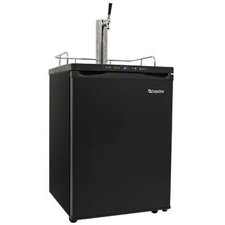 EdgeStar KC3000 24 Inch Wide Kegerator with Digital Display for Full Size Kegs
