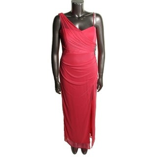 Onyx Nite Womens Evening Dress Embellished Sheath