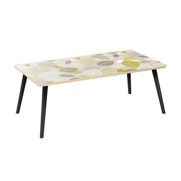 Brixton Flare Coffee Table Autumn Leaves Natural