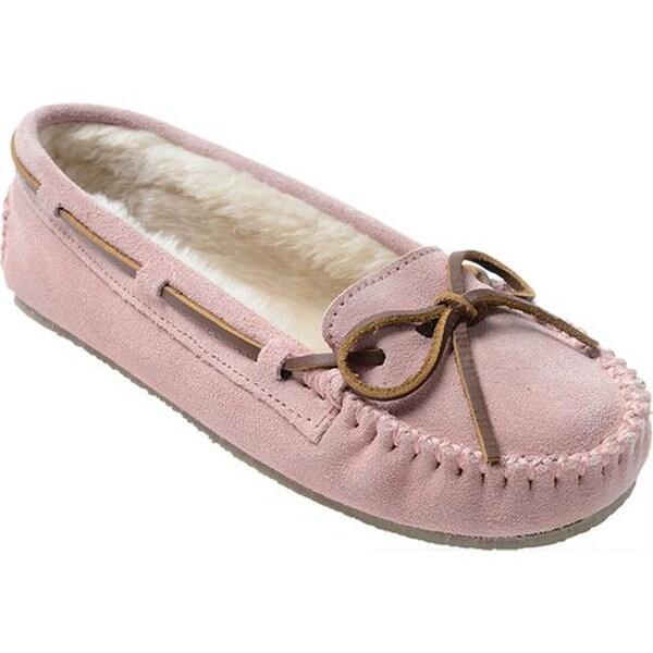 0e63aaf0f57 Shop Minnetonka Women s Cally Slipper Pink Blush Suede - Free ...