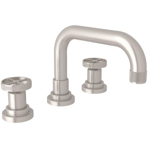 Rohl A3318IW-2 Campo 1.2 GPM Widespread Bathroom Faucet with Pop-Up