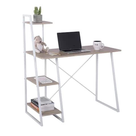 Porch & Den Parrett Computer with Shelf