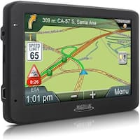 """Magellan RoadMate 5635T-LM 5.0"""" Touchscreen Portable GPS System (Certified Refurbished) - Black - 3.4 x 5.6 x 0.6"""