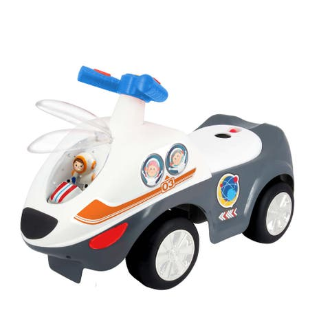 Kiddieland Lights 'N' Sounds Space Blaster Ride-On'