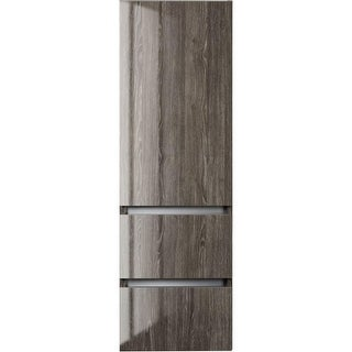 """Cutler Kitchen and Bath FV15LT  Sangallo 48"""" Tall x 15"""" Wide Wall Mounted Linen Cabinet"""