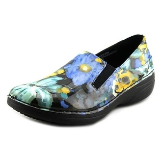 Spring Step Pro Ferrara Women Round Toe Patent Leather Blue Work Shoe