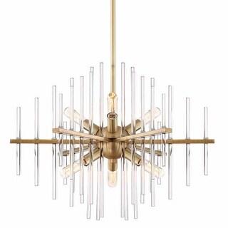 """Designers Fountain 90486 Reeve 6 Light 20"""" Wide Single Tier Sputnik Chandelier"""