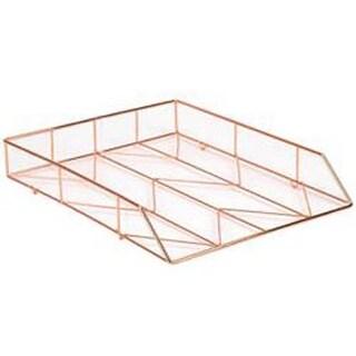 Copper - Wire Letter Tray 1/Pkg