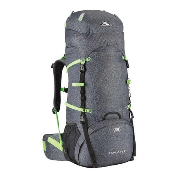 8c226ddbe Shop High Sierra Classic 2 Series Explorer 55 Frame Pack Texture/Black - US  One Size (Size None) - Free Shipping Today - Overstock - 25752911