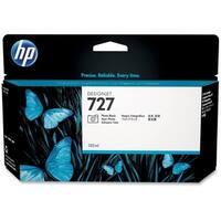 HP 727 130-ml Photo Black DesignJet Ink Cartridge (B3P23A) (Single Pack)