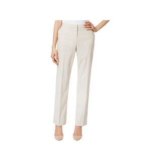 Tommy Hilfiger Womens Fairfield Straight Leg Pants Knit High Rise