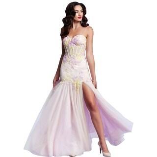 Mac Duggal Womens Lace Prom Formal Dress - 0