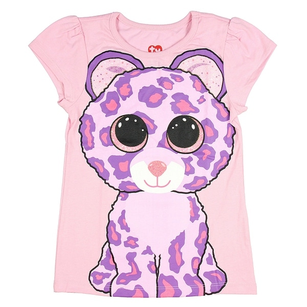 de874358a43 Shop TY Beanie Boo Girls  Glamour The Leopard T-Shirt - Free Shipping On  Orders Over  45 - Overstock - 18843638