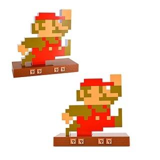 Nintendo Novelty Super Mario Retro Alarm Clock Mario