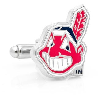 Cleveland Indians Cufflinks - Red