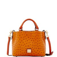Dooney & Bourke Ostrich Embossed Leather Mini Barlow Top Handle Bag (Introduced by Dooney & Bourke at $248 in Jan 2018)