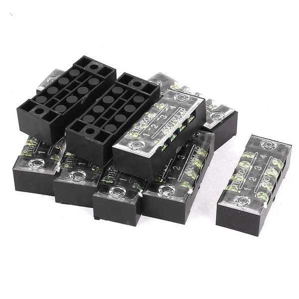 Electrical Equipment & Supplies Terminal Blocks 30 Pcs 600V 15A 4P