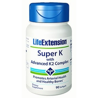 Life Extension Super K with Advanced K2 Complex 90 softgels