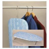 Standard Steel Mesh Tabletop Ironing Board - Blue Paintbrush Cover