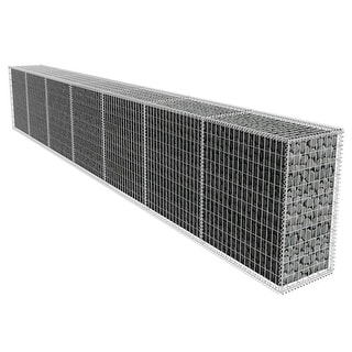 Link to vidaXL Gabion Wall with Cover 19.7'x1.6'x3.3' Similar Items in Yard Care