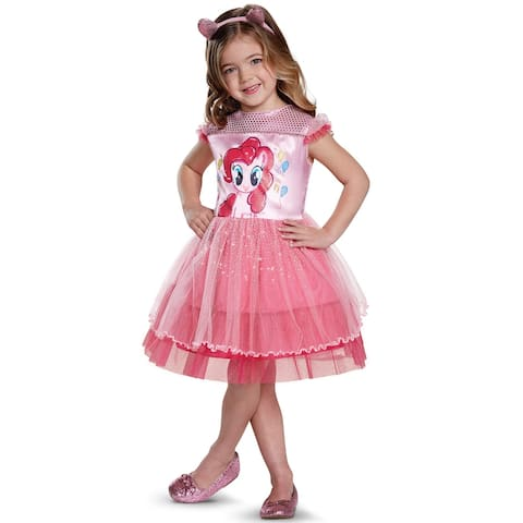 Disguise Pinkie Pie Movie Classic Toddler Costume - Pink