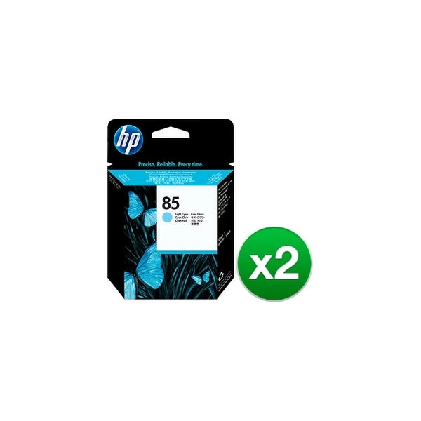 HP 85 Light Cyan DesignJet Printhead (C9423A) (2-Pack)