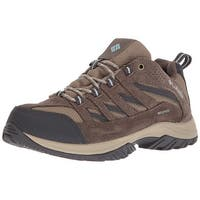 Columbia Womens Crestwood Low Top Lace Up Walking Shoes