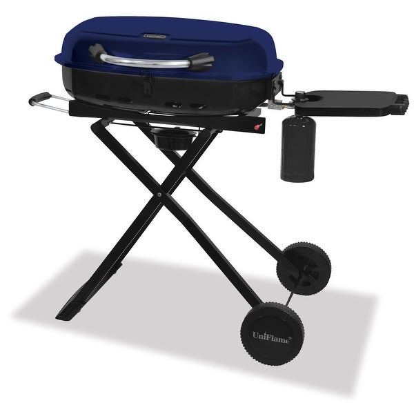 Blue Rhino GTC1205B Outdoor LP Gas Tailgate Barbecue Grill - Blue/Black