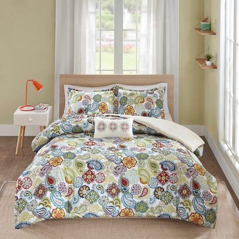 Mi Zone Asha Printed Paisley Comforter Set