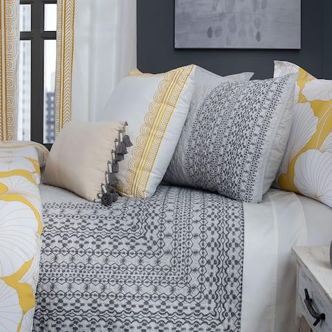 Nikki Chu Gingko Interlaken 3-Piece Cotton Quilt Set