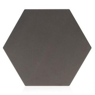 7x8 Norway Black Porcelain Floor and Wall Tile (5.04 Sq. Ft./ 18 pcs per box)